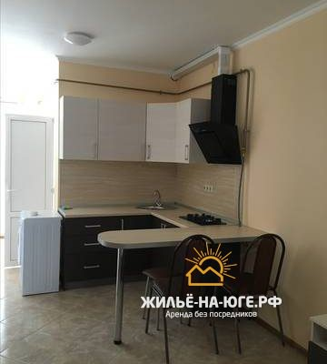 Квартира-студия под ключ на Виноградной